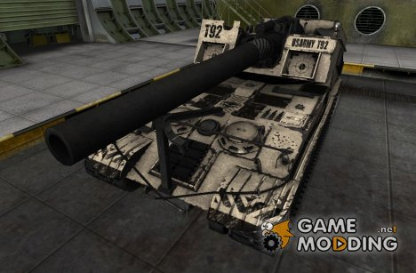 Шкурка для T92 для World of Tanks
