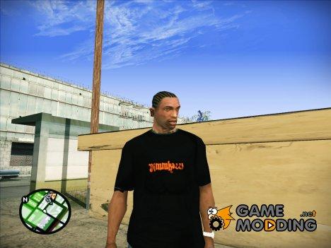 Футболка Dimmka223 для GTA San Andreas