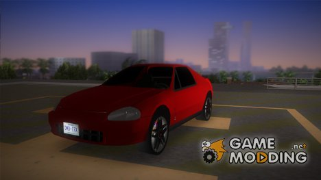 Honda CR-X del Sol 1996 for GTA Vice City