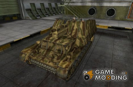 Remodel Hummel для World of Tanks