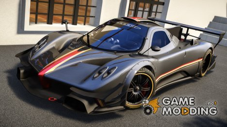 Pagani Zonda R Evolucion Final для GTA 4