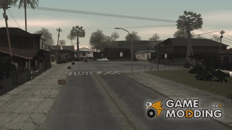HQ Textures, plugins and graphics from GTA IV для GTA San Andreas