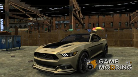 Ford Mustang GT 2015 Custom Kit black stripes gt для GTA 4