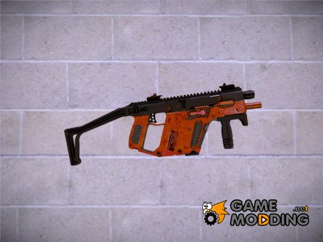 KRISS Vector COD MW2 для GTA San Andreas