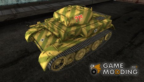 Шкурка для PzKpfw II Luchs для World of Tanks