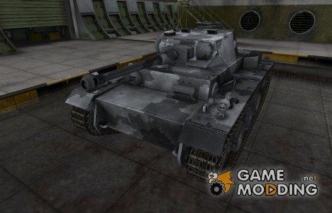 Камуфлированный скин для VK 30.01 (H) для World of Tanks