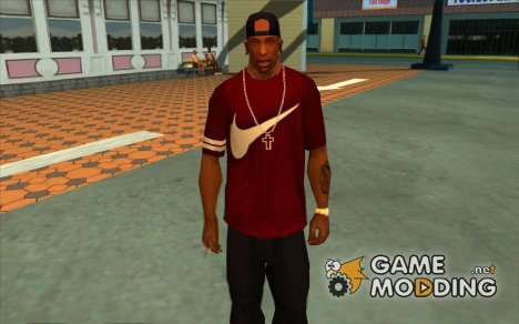 Nike футболка for GTA San Andreas