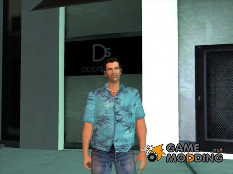Tommy Vercetti in Hawaiian shirt GTA VC for GTA San Andreas