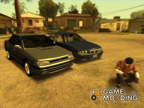 Atmosphere cars 1990-1992 years для GTA San Andreas