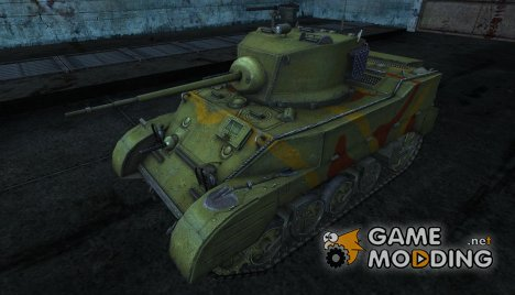 M5 Stuart 1 for World of Tanks