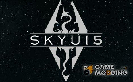 SkyUI 5.1 for TES V Skyrim