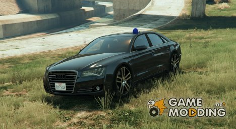 Audi A8 with Siren BETA для GTA 5