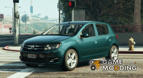 Dacia Sandero 2014 for GTA 5