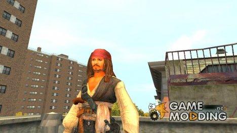 Джек Воробей для GTA 4