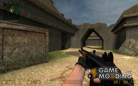 Heat Galil + W_Model for Counter-Strike Source