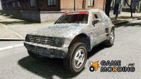 Mitsubishi Pajero Proto Dakar EK86 винил 3 for GTA 4