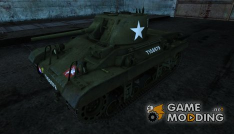 Шкурка для M22 Locust for World of Tanks