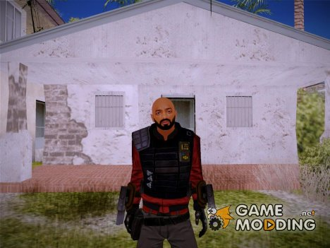 Will Smith - DeadShot (Suicid Squad) for GTA San Andreas