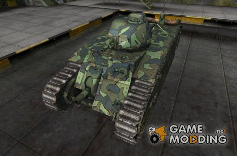 Шкурка для B1 для World of Tanks