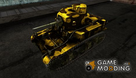 Шкурка для M3 Стюарт для World of Tanks