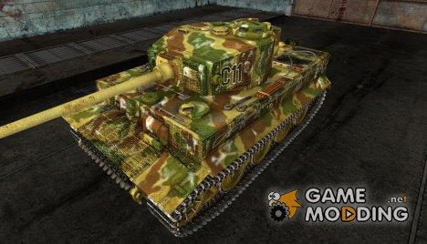Шкурка для PzKpfw VI Tiger I for World of Tanks