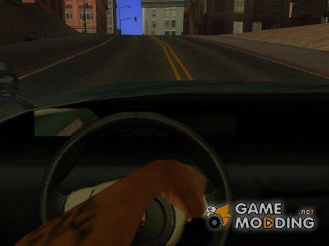 Более реальный поворот руля for GTA San Andreas