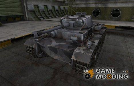 Шкурка для немецкого танка VK 30.01 (H) for World of Tanks
