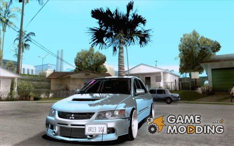 Mitsubishi Lancer Evolution VIII JDM Style for GTA San Andreas