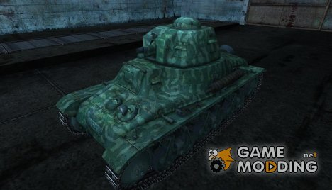 Шкурка для Hotchkiss H35 for World of Tanks