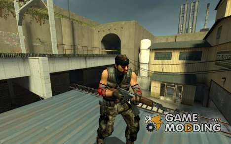 Wounded Guerilla for Counter-Strike Source