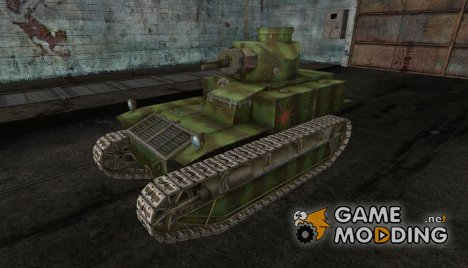 Шкурка для T2 med for World of Tanks