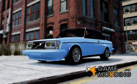 Volvo 242 v2 for GTA 4