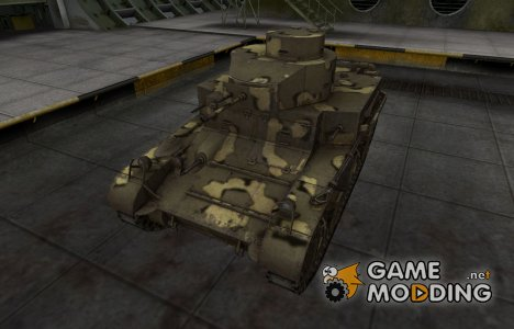 Простой скин M2 Light Tank для World of Tanks