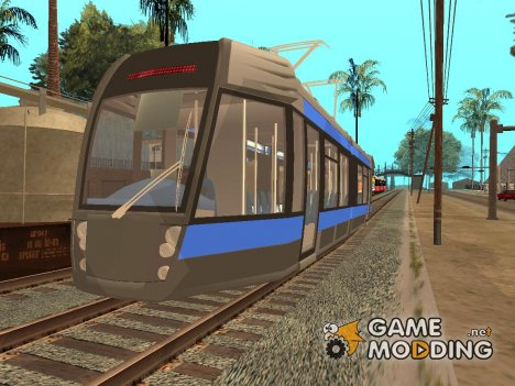 Пак поездов v.3 By Vone for GTA San Andreas