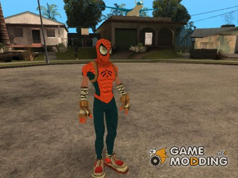 Mangaverse Spider Man for GTA San Andreas