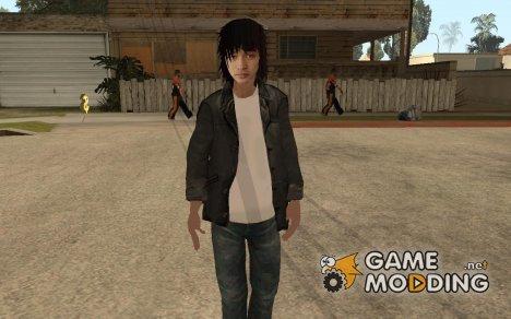 Скин Виктора Цоя для GTA San Andreas