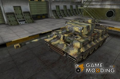 Ремоделинг для Pz VITiger I for World of Tanks