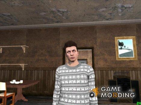 Парень с белыми глазами for GTA San Andreas