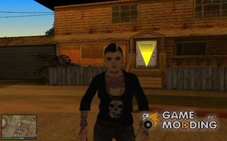 Clara Lille(Watch_Dogs) for GTA San Andreas