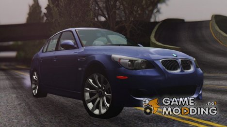 BMW M5 E60 2009 for GTA San Andreas