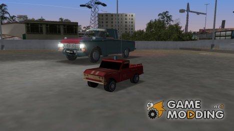 Агат (Моссар) Москвич 433 Пикап for GTA Vice City