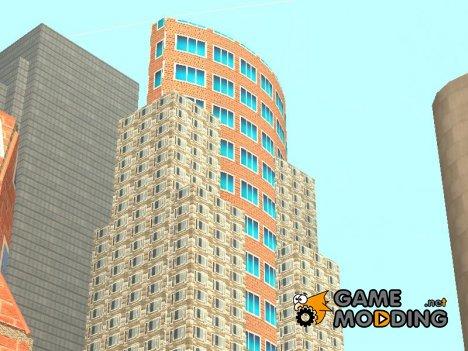 Новые текстуры небоскребов в лосантосе for GTA San Andreas