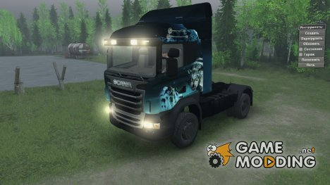 Scania 730 for Spintires 2014
