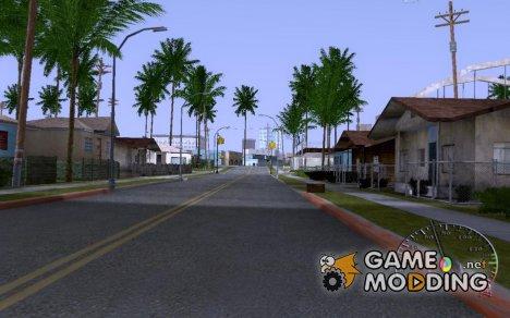 """Спидометр """"chrome"""" for GTA San Andreas"""