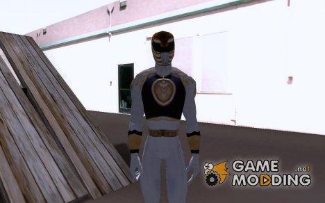 White ranger для GTA San Andreas