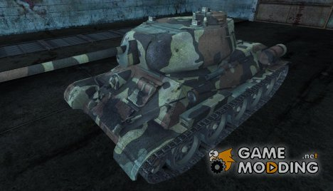 Шкурка для Т-34-85 for World of Tanks