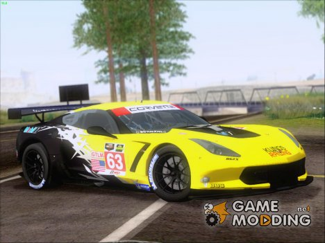 Chevrolet Corvette C7R GTE 2014 (Paintjobs Part 2) for GTA San Andreas