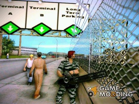 Военный Томми 2 for GTA Vice City