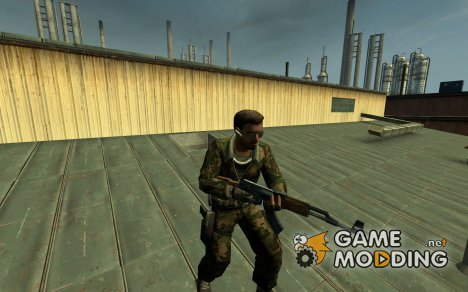 Woodland Forces Leet *Download fixed* для Counter-Strike Source