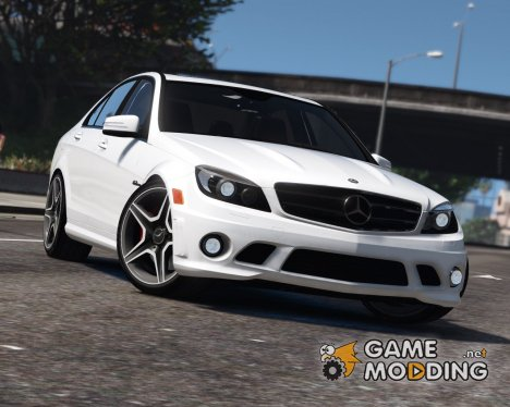 Mercedes-Benz C63 AMG W204 2011 v1.4 for GTA 5